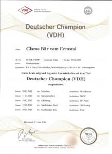 Duits Kampioen ( VDH )